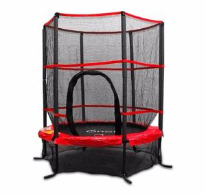 Trampolin Brincolin Infantil Con Red 1.4m Tumbling