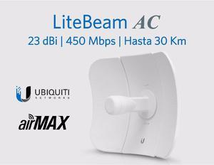 Ubiquiti Litebeam 5ac. Ant. Int. 23 Dbi, 5 Ghz, ac