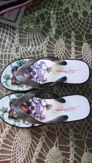 sandalias ed hardy originales