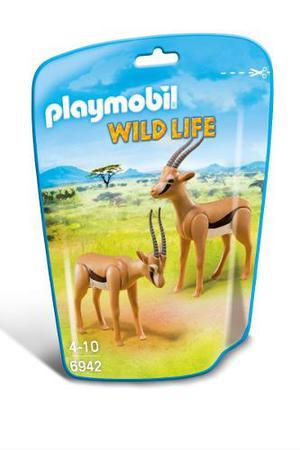 Gacelas Playmobil Cafes 2 Piezas Colección Niños Safari