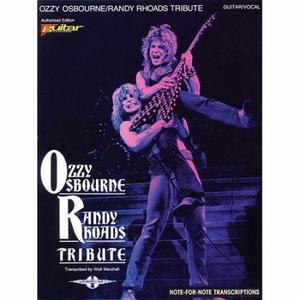 Libro Tablatura de Guitarra Ozzy Osbourne Tribute Randy