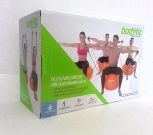 Pelota De Pilates Con Ligas 65 Cm Bodyfit
