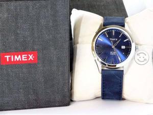 Reloj timex cartula tornasol,fechador,gamuza,orig,