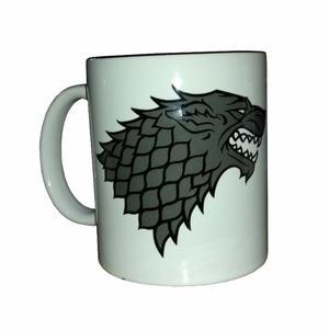 Taza Personalizada Game of Thrones. Familia Stark - Winter