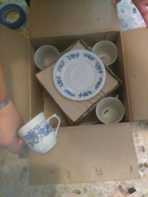 Vajilla para 4 personas 16 piezas nueva posot class - Vajilla de porcelana ...