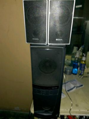 home theater Kenwood con bocinas Sony