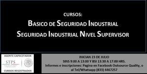 CURSO BASICO DE SEGURIDAD INDUSTRIAL Y CURSO SEGURIDAD