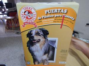 Puerta reja de seguridad para bebes o mascotas posot class for Puertas para animales