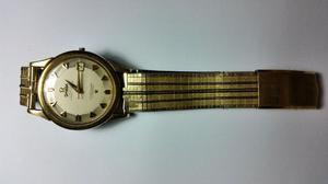 Reloj Omega Constellation automatico de oro 14 kt