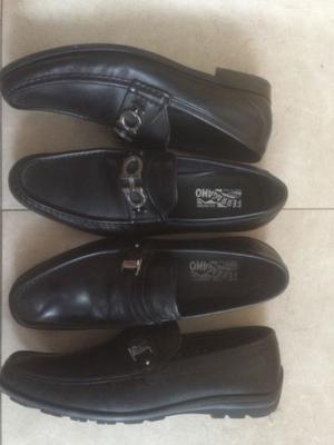 zapatos Ferrugamo tallas 12 y Tenis Lacoste