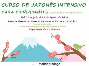 CURSO DE JAPONÉS INTENSIVO PARA PRINCIPIANTES