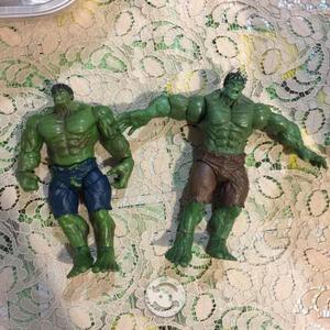 Figuras de acción Hulk