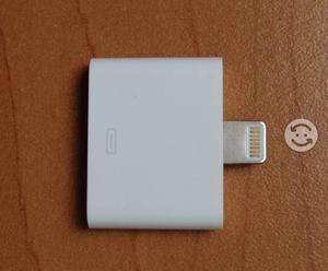 ADAPTADOR LIGHTING ORIGINAL Y NUEVO iPhone iPod