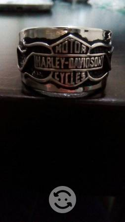 Anillos de acero inoxidable Harley Davidson