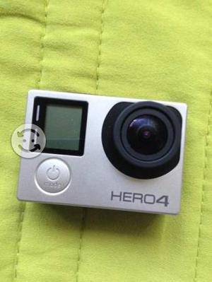 Gopro Hero 4 Silver Con Sd 4gb Y Case 4k