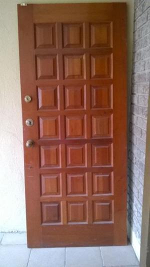 Cerradura para puerta marca fanal posot class for Puerta de madera exterior usada