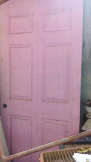 Puertas de madera usadas posot class for Puertas usadas de madera