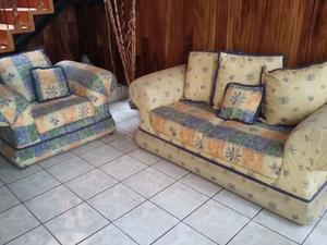 vendo sala sillones y cojines posot class