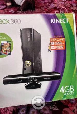 Xbox 360 Slim E Con Sensor Kinect