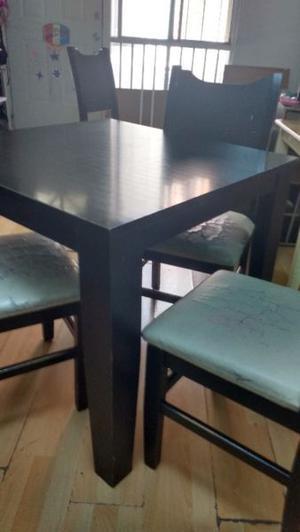 Comedor rutico 6 sillas usado muy monterrey posot class - Comedor de cuatro sillas ...