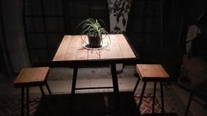 mesa para bancos