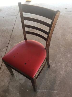 sillas usadas para restaurant
