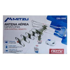 Antena Aerea Hd Giratoria Control Remoto Mitzu