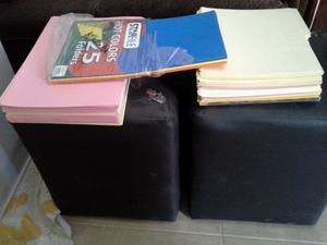 Aproximadamente 150 folders tamano carta y oficio, varios
