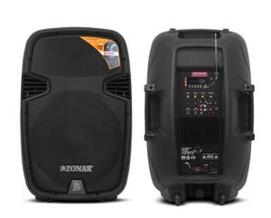 Bafle Amplificado Profesional 15 Pulg  W Bluetooth Mp3
