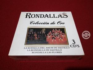 CD triple de la rondalla de las flores y saltillo