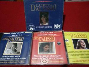 CD triple de lupita dalessio su historia musical