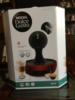 Cafetera Nescafe Dolce-Gusto Drop Roja