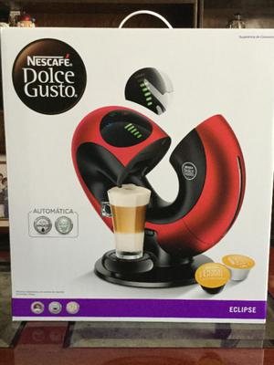 Cafetera Nescafe Dolce-Gusto Eclipse Roja