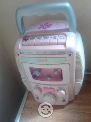 Equipo de sonido de juguete de barbie