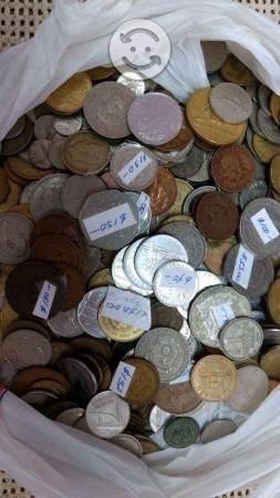 Lote de 580 monedas antiguas