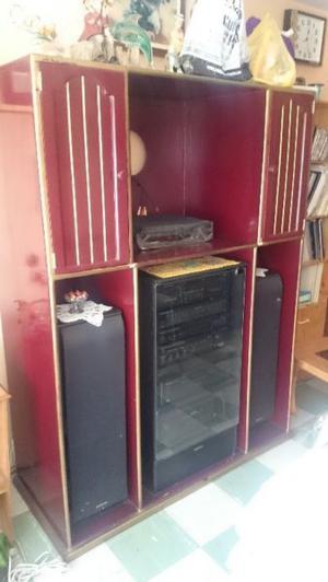 Mueble para Televisor, Equipo de sonido, Etc