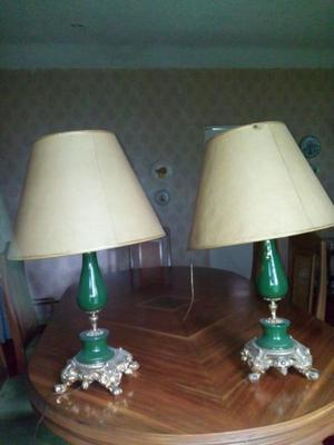 Par de lámparas Vintage