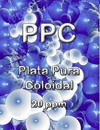 Plata pura coloidal