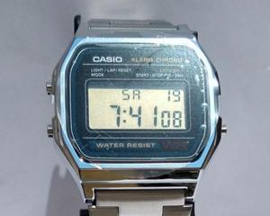 Reloj Casio modelo A158WA.