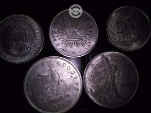 Vendo monedas de plata antiguas