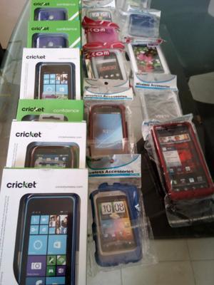 lote de carcasas para celular