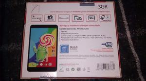 tablet techpad, 3g para llamadas, mensajes y navegacion