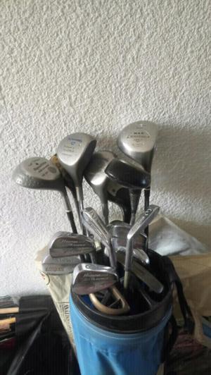 Bolsa y set de palos de golf
