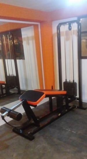 Femoral Tumbado Leg Curl Gym Gimnasio Cracken Gym