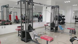 Gym Gimnasio Paquete Basico 2 Cracken Gym