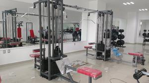 Gym Gimnasio Paquete Basico 2 Cracken Gym