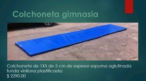 Gimnasia en monterrey posot class for Colchonetas para gimnasia