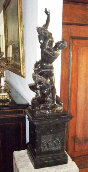 Antigua Escultura de Bronce.