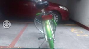 Bici clásica Urbana color verde esmeralda