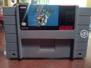 Cartucho de Super Nintendo Super Mario World